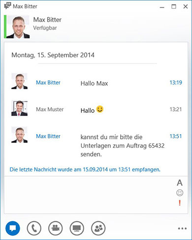 Hosted Lync - Instant Messaging (Chat)