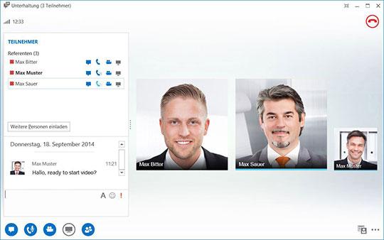 Hosted Lync - Videokonferenzen