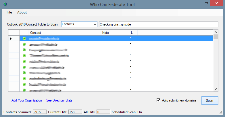 Hosted Lync - Who Can Federate Tool