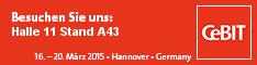 NetTask Blog - CeBIT 2015 Halle 11 Stand A43